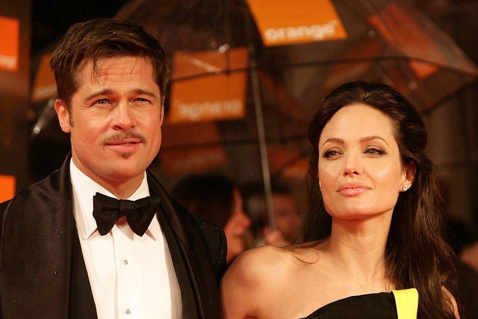 Brad Pitt ir Angelina Jolie (nuotr. SCANPIX)