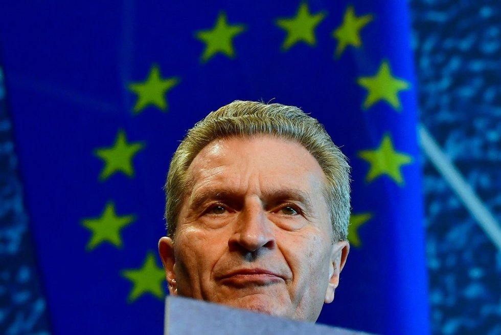 Guenther Oettinger (nuotr. Scanpix)