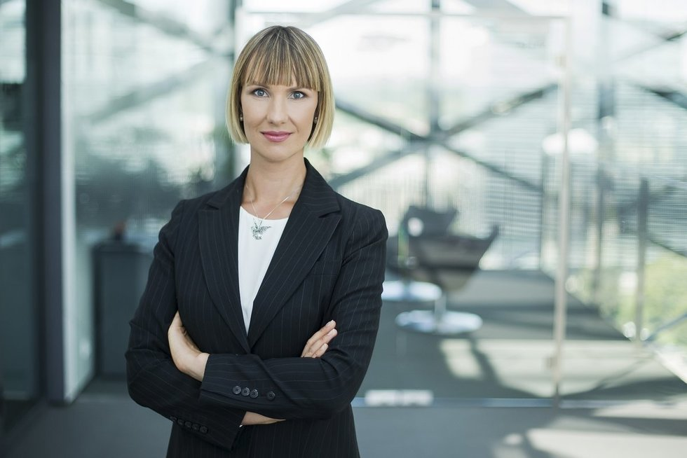 Lina Žemaitytė-Kirkman (nuotr. Swedbank)
