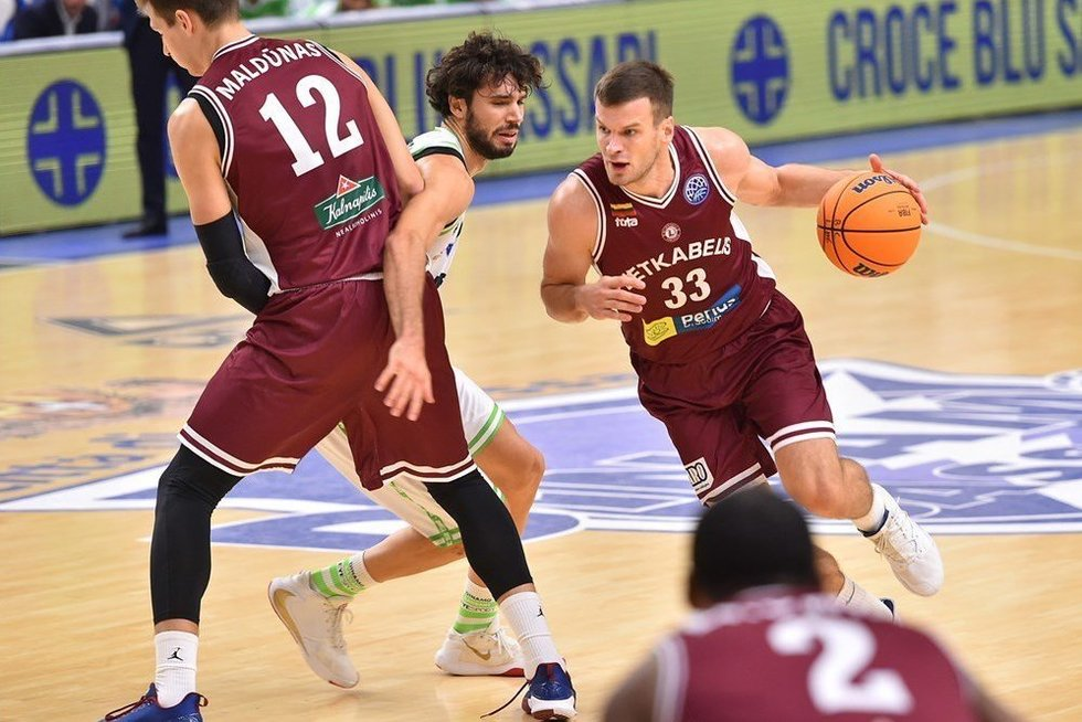 """Lietkabelis""  (nuotr. FIBA)"