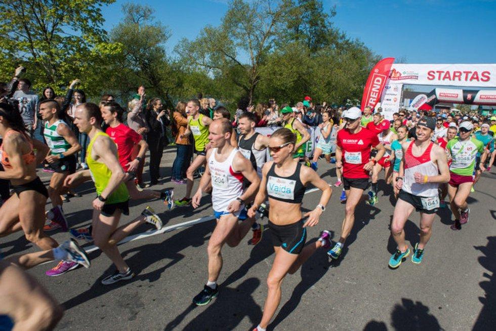 Trakų pusmaratonis (nuotr. Organizatorių)