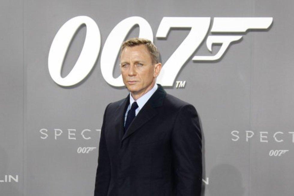 Danielis Craigas (nuotr. Vida Press)