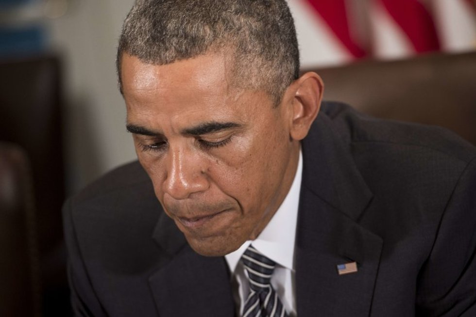 Barackas Obama galėjo užsikrėsti Ebolos virusu (nuotr. SCANPIX)