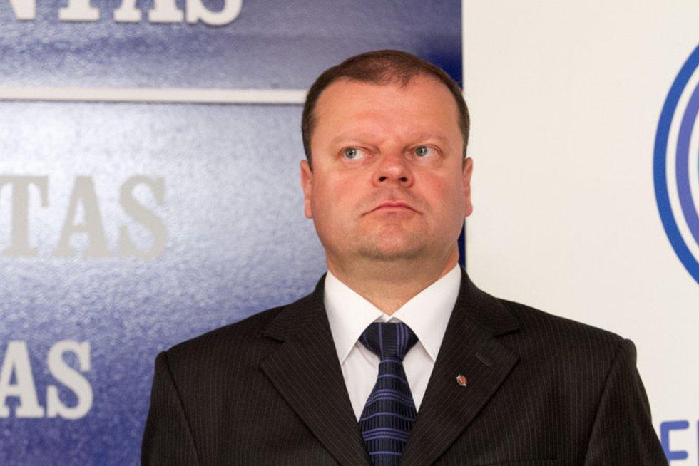 Saulius Skvernelis (nuotr. Balsas.lt/Ruslano Kondratjevo)