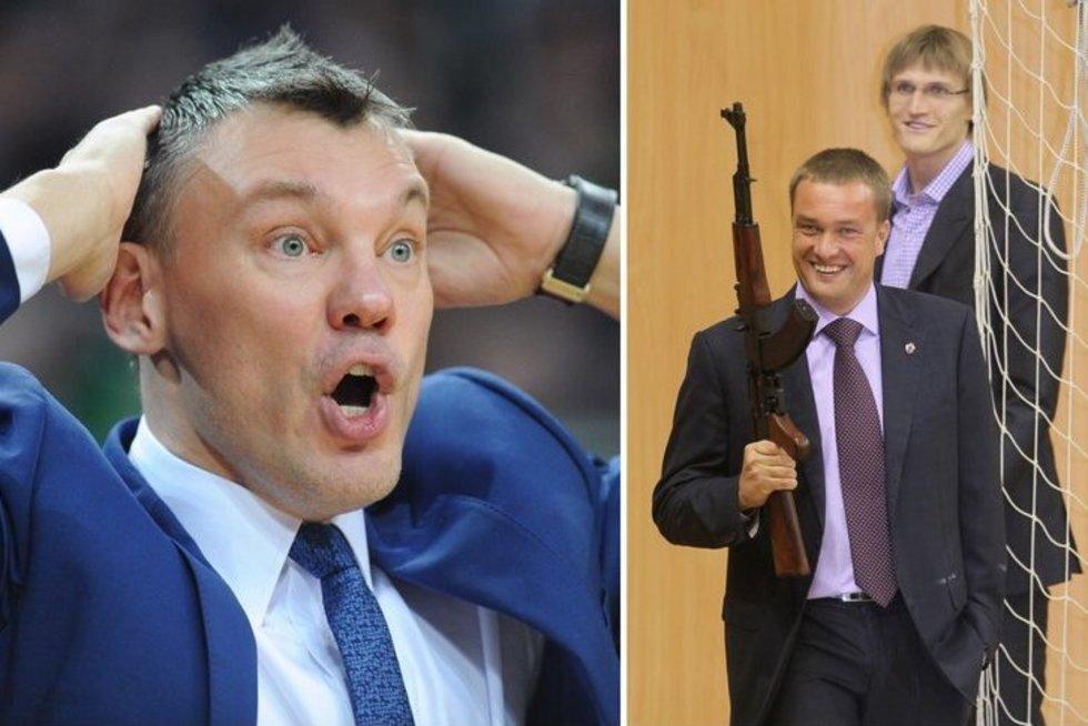 Šarūnas Jasikevičius, Andrejus Vatutinas ir Andrejus Kirilenka (tv3.lt fotomontažas)