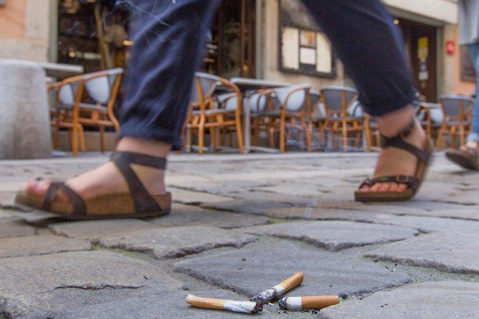 Cigaretės (nuotr. SCANPIX)