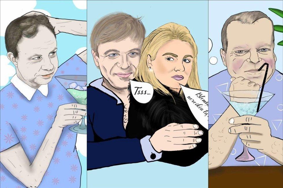 Politikų šaržus kurianti lietuvė sukūrė interneto sensaciją  (nuotr. asm. archyvo)