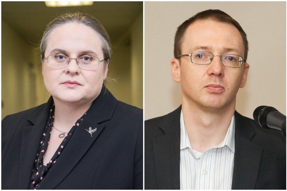 Agnė Širinskienė ir Tomas Janeliūnas (tv3.lt fotomontažas)