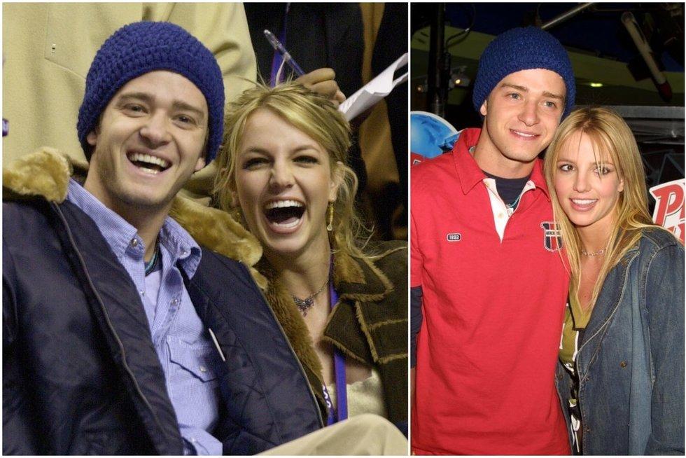 Justin Timberlake ir Britney Spears (tv3.lt fotomontažas)