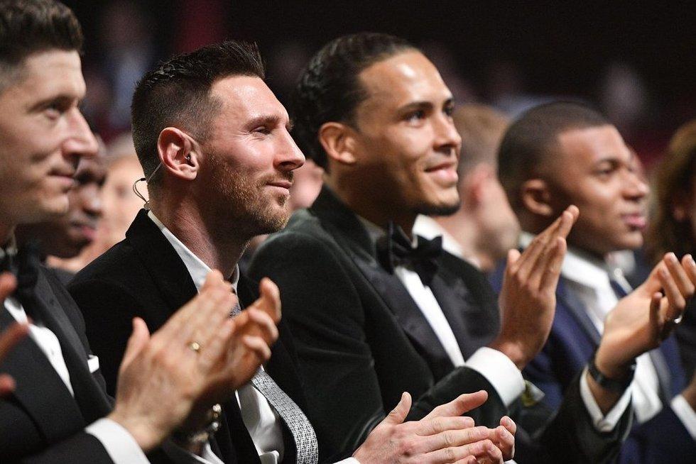L. Messi ir V. Van Dijkas (nuotr. SCANPIX)