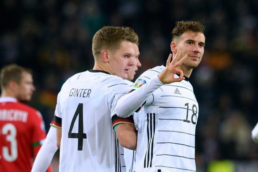 Vokiečiai laimėjo 4:0 (nuotr. SCANPIX)