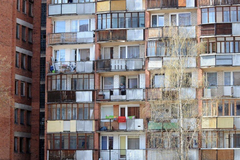 Daugiabučiai (nuotr. Fotodiena.lt/Roberto Dačkaus)
