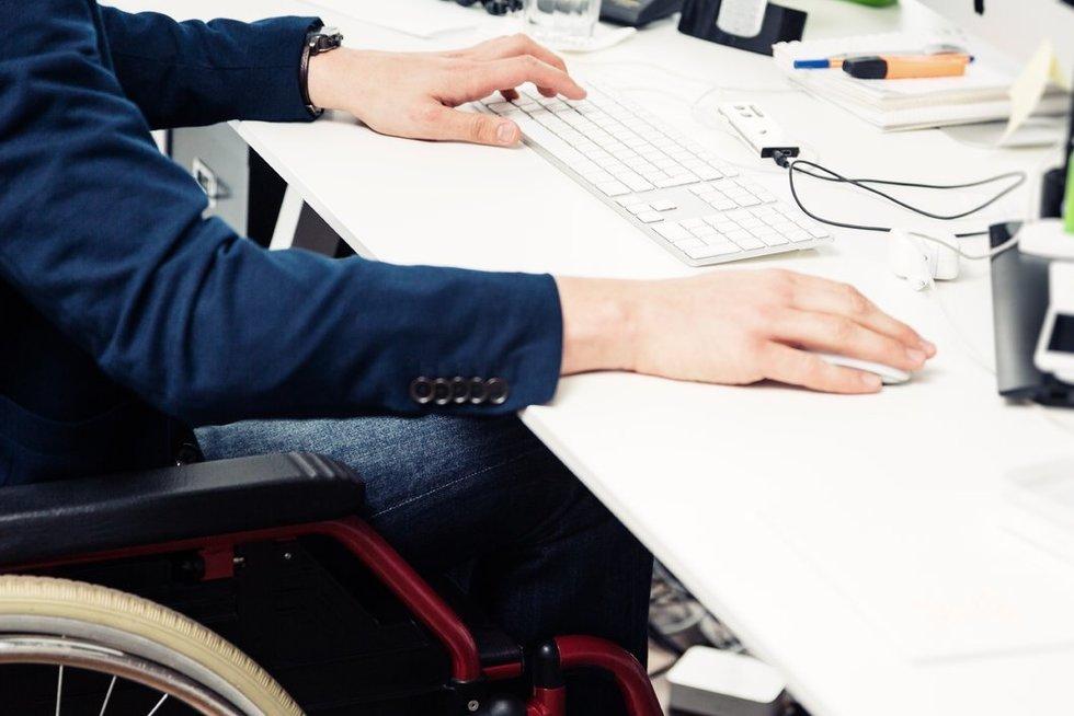 Neįgalumas ir darbas (nuotr. 123rf.com)