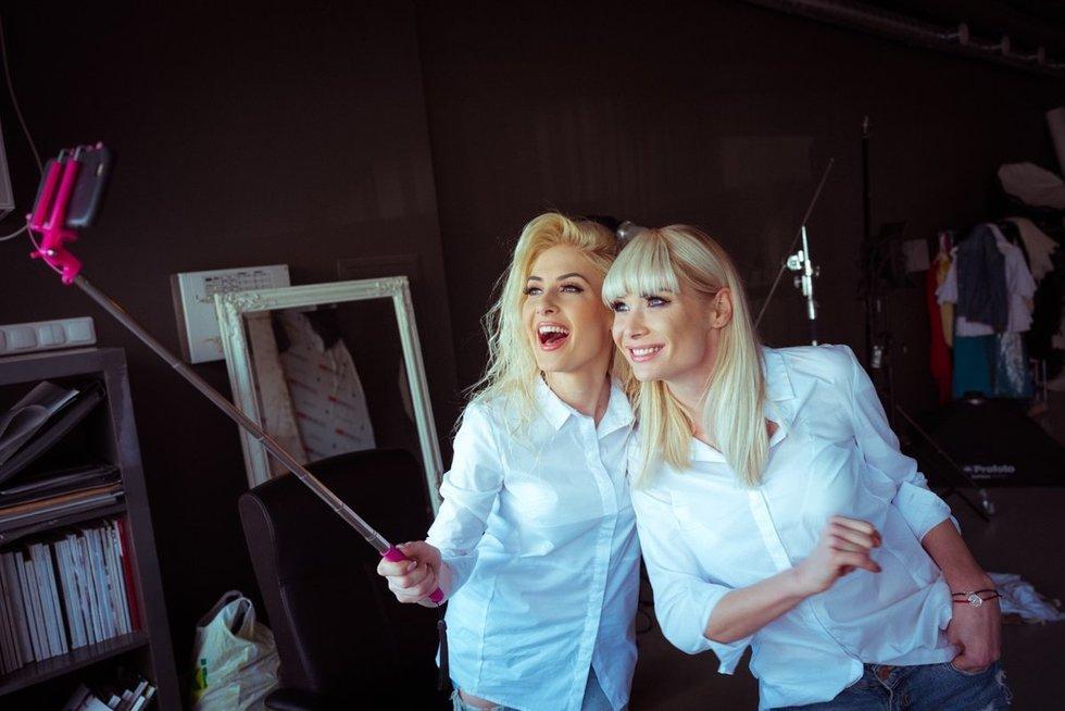 Natalija Bunkė ir Kristina Ivanova (nuotr. D. Gražys)