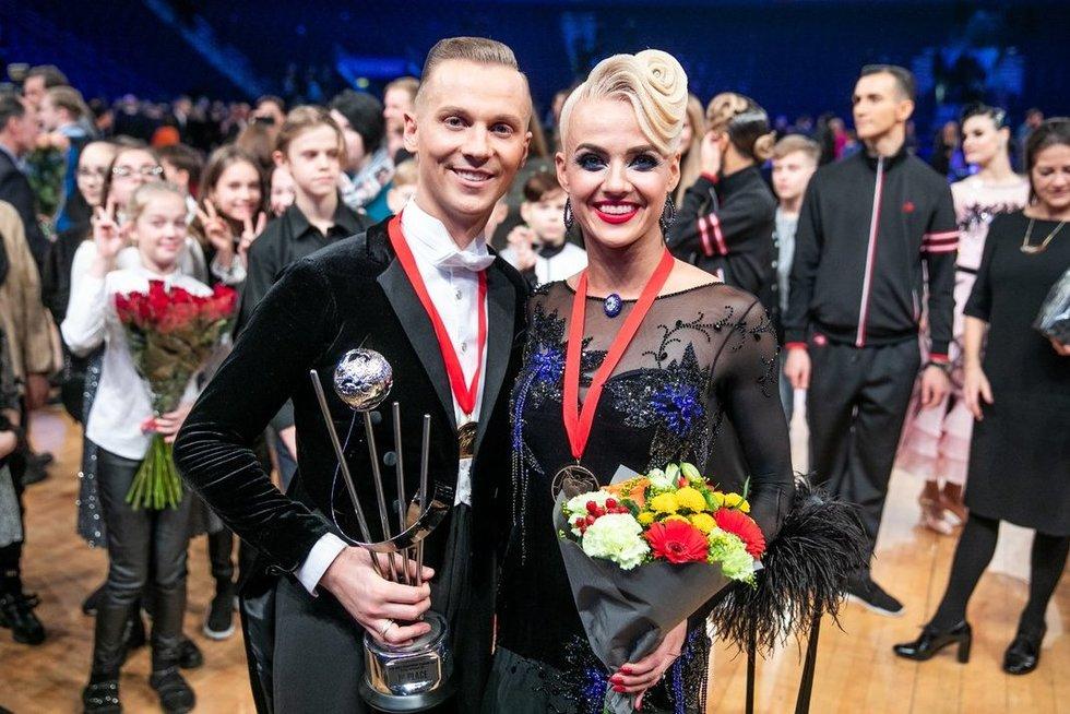 Pasaulio standartinių sportinių šokių čempionatas (Irmantas Gelūnas/Fotobankas)