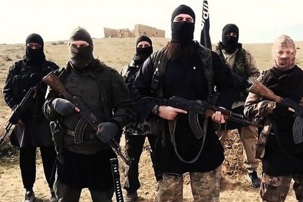 """""""Islamo valstybės"""" teroristai (nuotr. SCANPIX)"""
