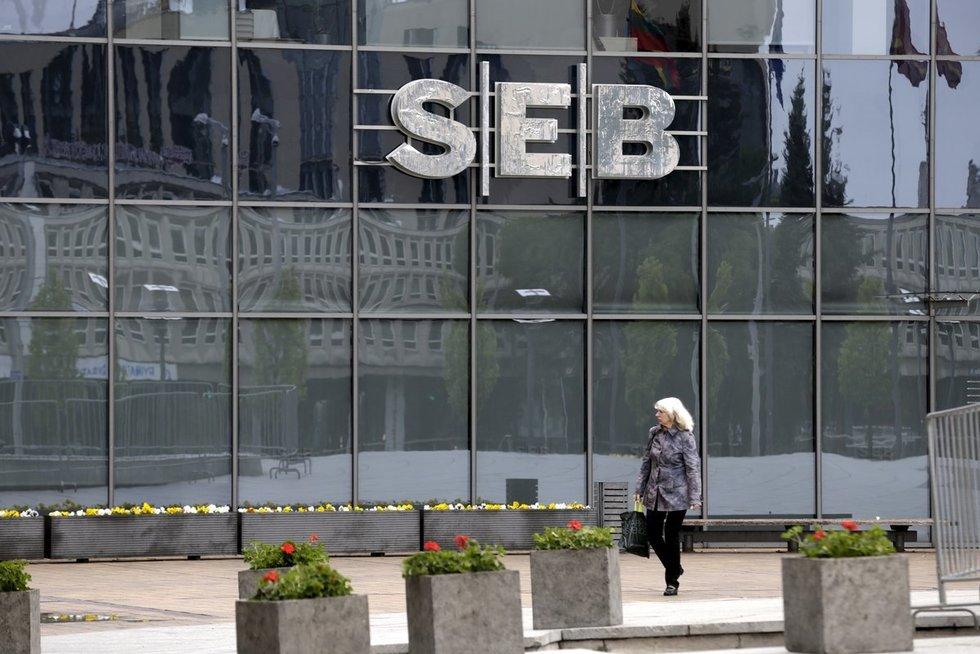 SEB bankas (nuotr. SCANPIX)