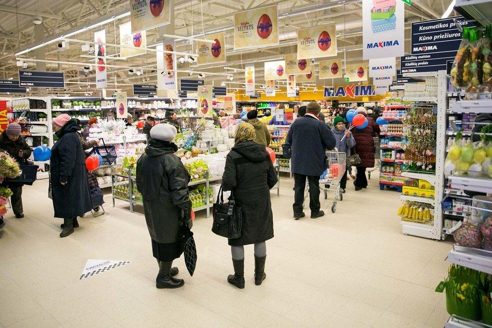 Vilniaus Karoliniškių mikrorajone duris atvėrė nauja Maximos parduotuvė (nuotr. bendrovės)