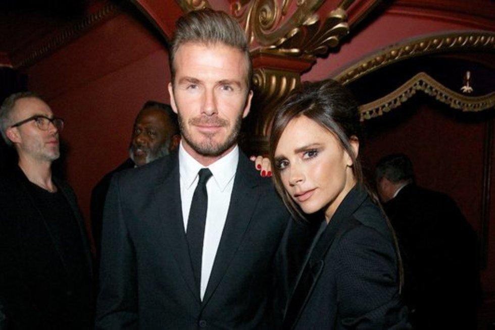Davidas ir Victoria Beckhamai  (nuotr. Vida Press)