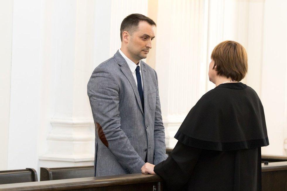 Rusų žvalgybininkas už šnipinėjimą Lietuvoje nuteistas kalėti 10 metų (nuotr. Broniaus Jablonsko)