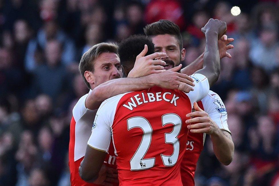 """Arsenal"" - ""Norwich"" (nuotr. SCANPIX)"