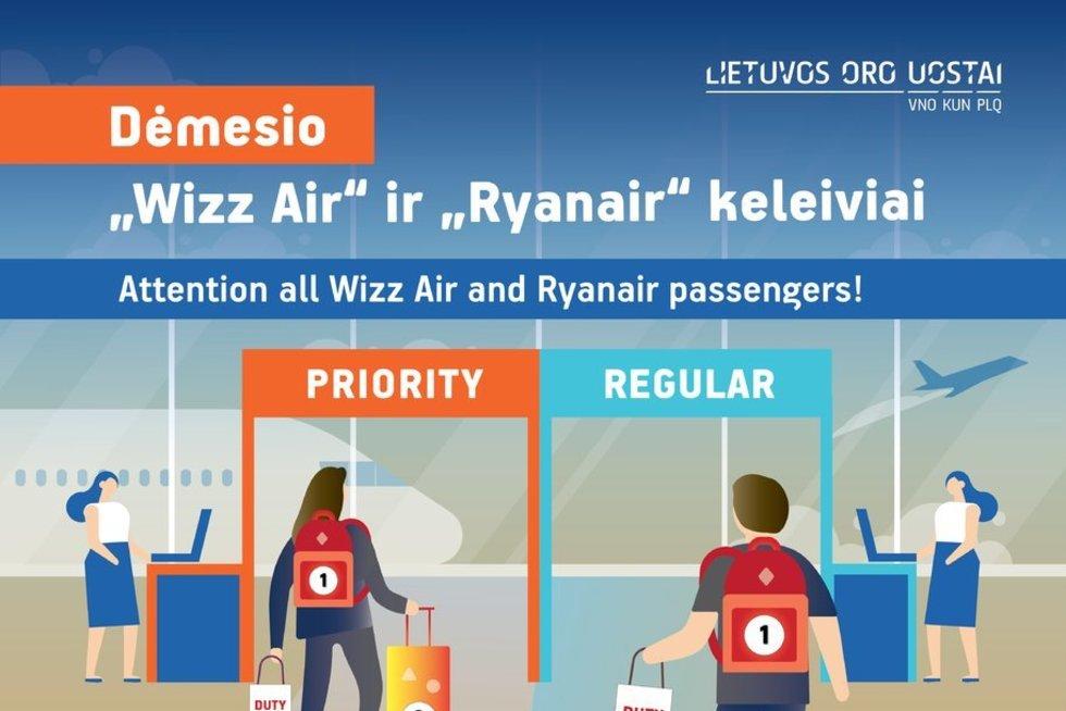 Pokyčiai oro uostuose - jau lapkritį (nuotr. Organizatorių)
