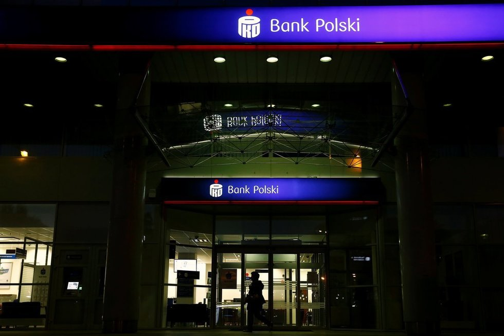 PKO bankas Lenkijoje (nuotr. SCANPIX)