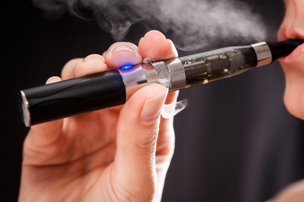 Elektroninės cigaretės (nuotr. 123rf.com)
