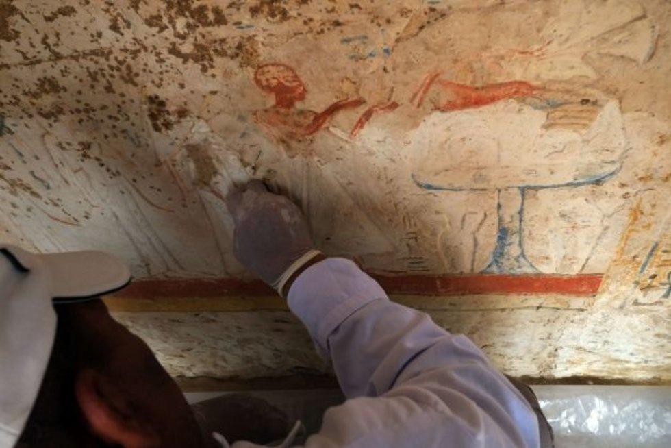 Archeologiniai tyrimai Egipte (nuotr. SCANPIX)
