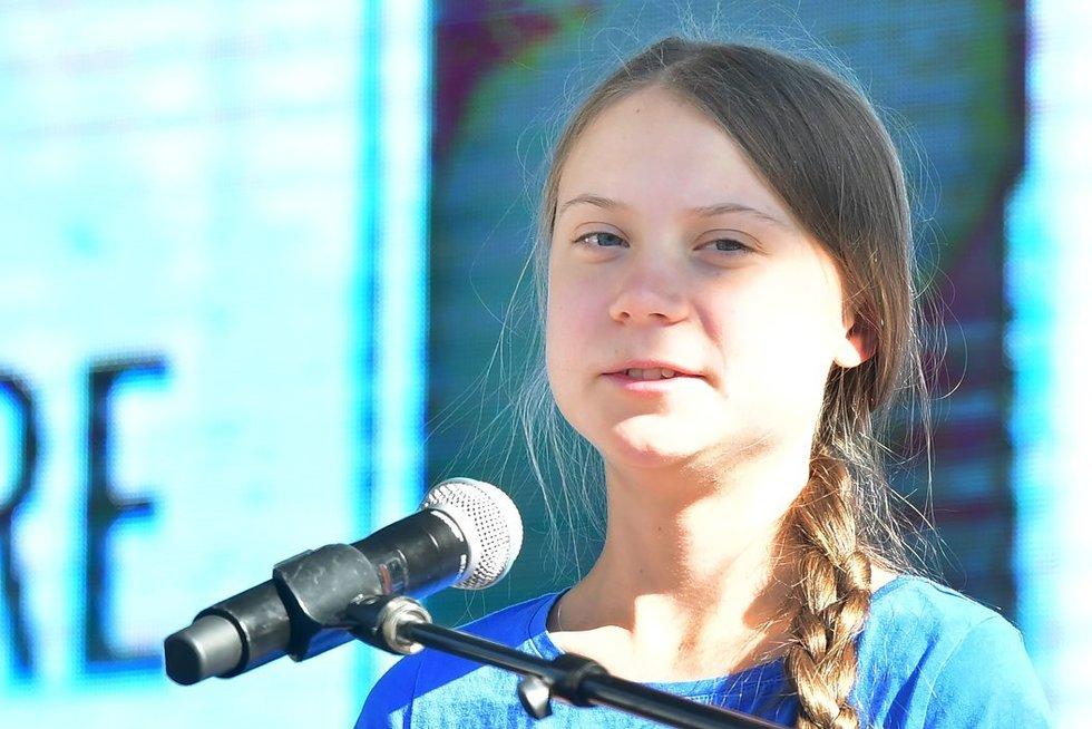 Greta Thunberg (nuotr. SCANPIX)