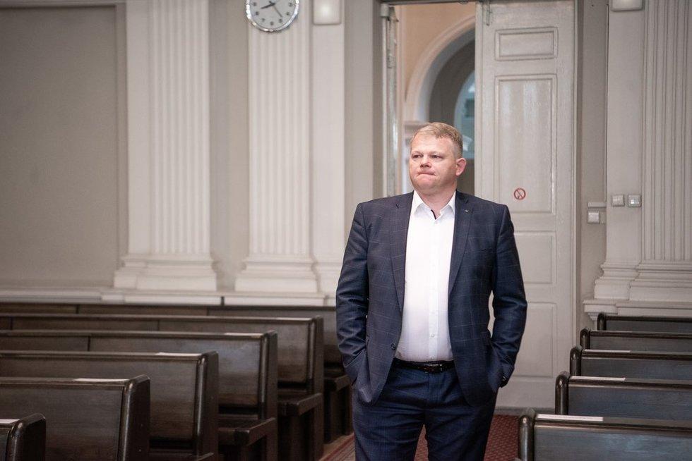 Andrius Palionis (nuotr. Fotodiena/Arnas Strumila)