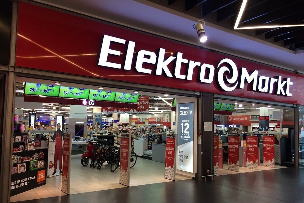 """Elektromarkt""  (nuotr. bendrovės)"