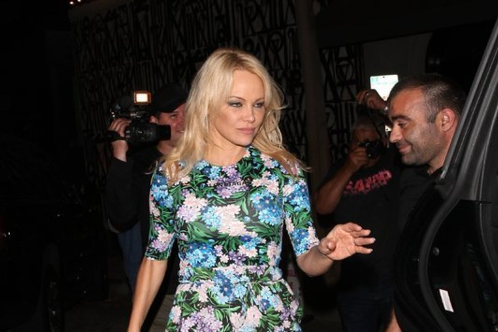 Pamela Anderson (nuotr. Vida Press)