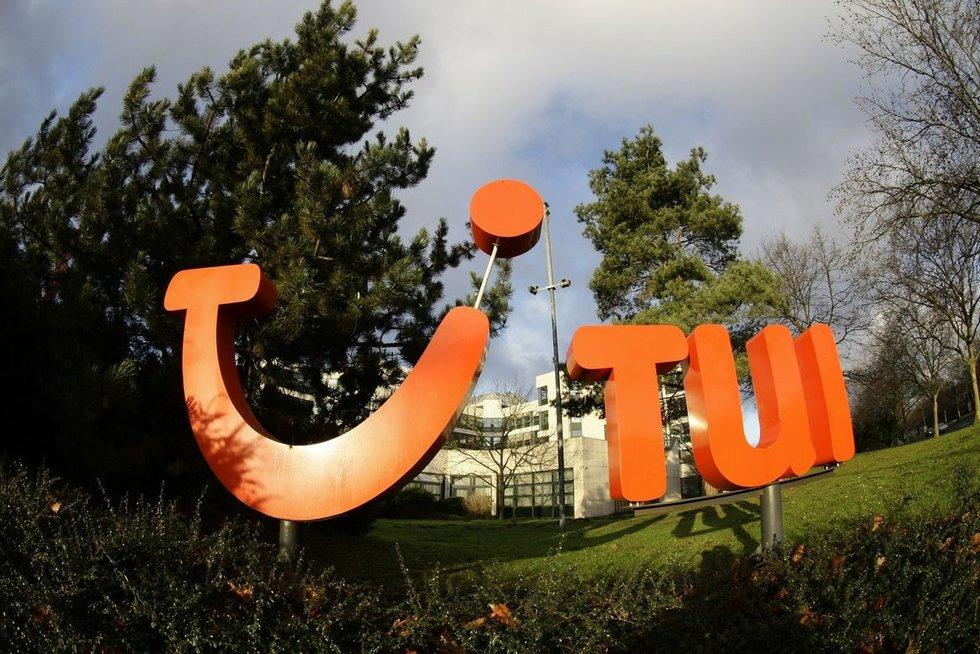 """Tarptautinė kelionių organizatorė """"TUI Group"""" (nuotr. SCANPIX)"""