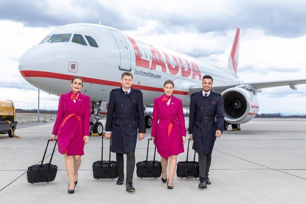 Vilniaus oro uoste – nauja oro bendrovė ir skrydžiai į Vieną (nuotr. Organizatorių)