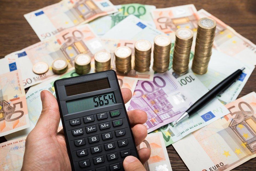 Finansai (nuotr. 123rf.com)