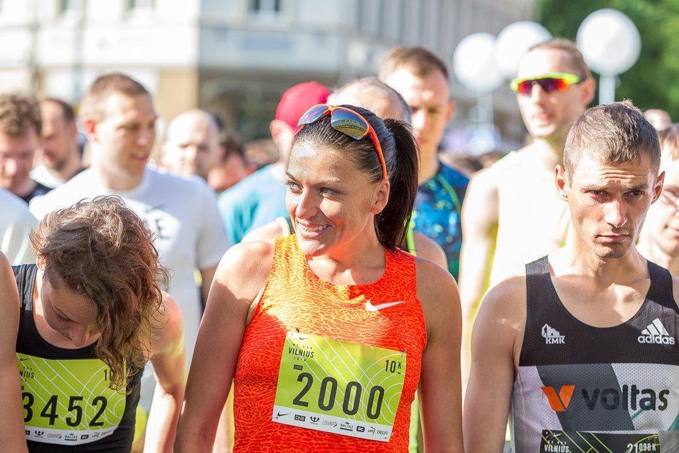 Vilniaus gatves užplūdo 7 tūkstančiai bėgikų (nuotr. Vytauto Dranginio)