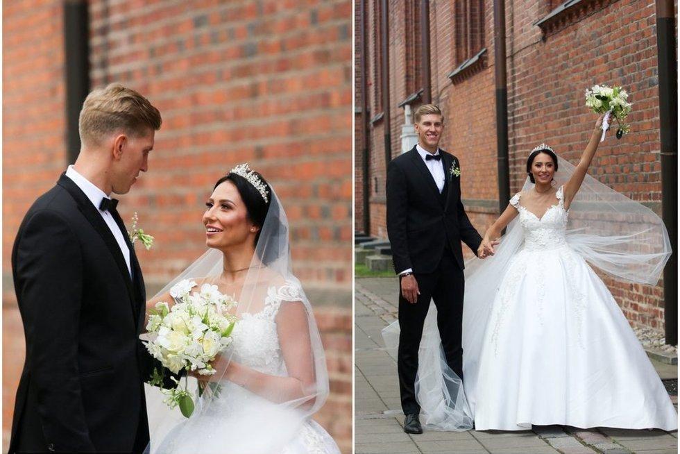 Susituokė atlikėja Vasha (tv3.lt fotomontažas)