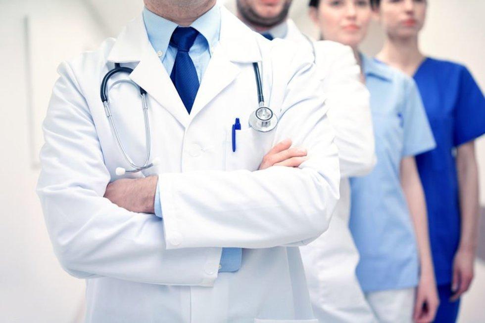 Gydytojai (nuotr. 123rf.com)