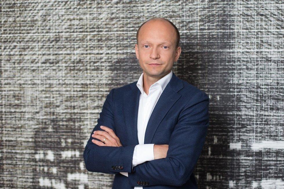 """""""Swedbank"""" vyriausiasis ekonomistas Nerijus Mačiulis (nuotr. bendrovės)"""