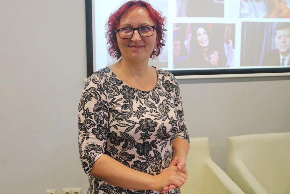 """Jurgita Pocienė surengė konferenciją """"Disleksijos paliesti"""". Sigitos Inčiūrienės nuotr."""