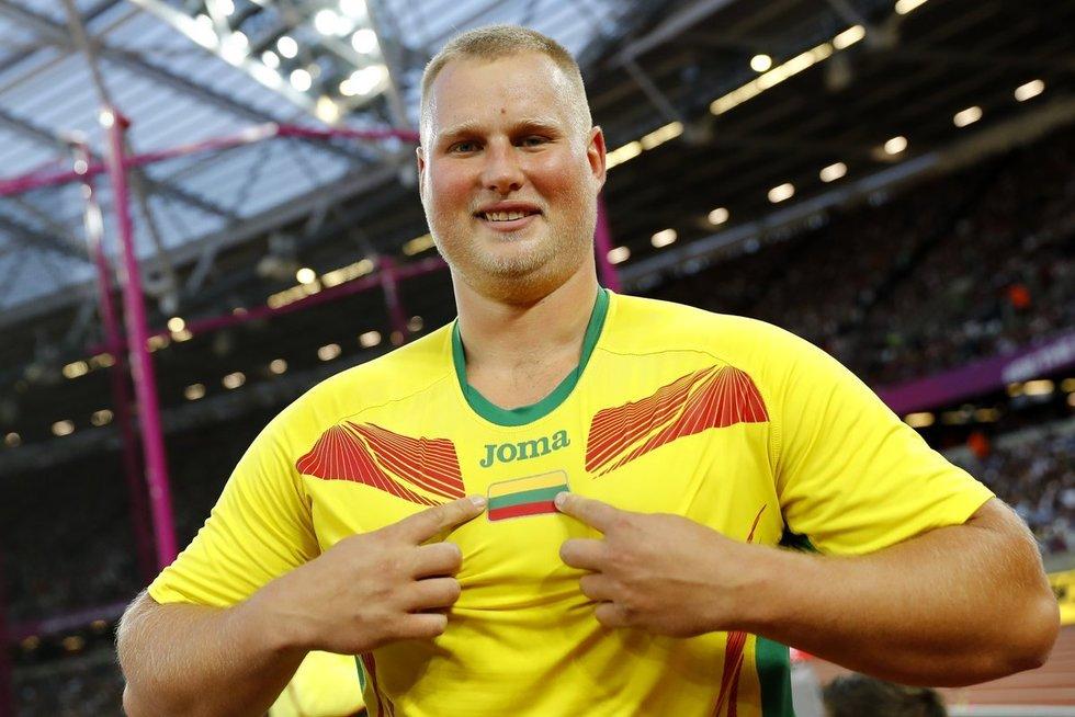 Andrius Gudžius − pasaulio čempionas! (nuotr. SCANPIX)