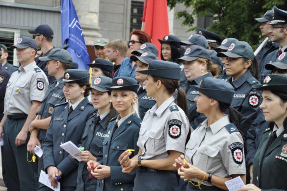 Preigūnų protestas (nuotr. Organizatorių)