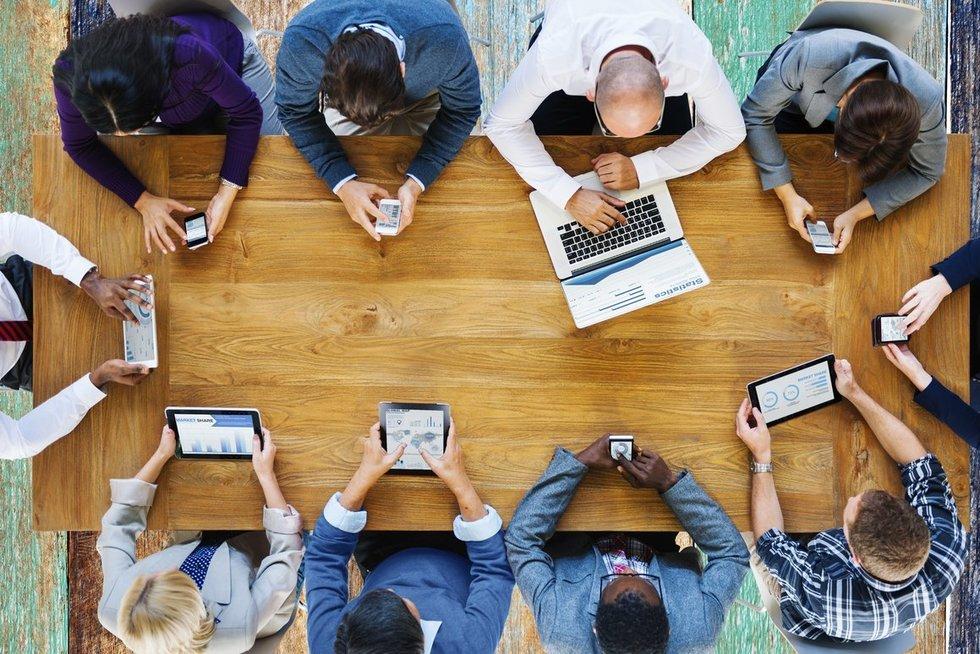 Technologijos (nuotr. 123rf.com)