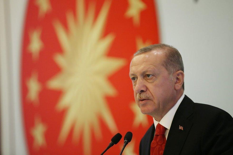 Recepas Tayyipas Erdoganas (nuotr. SCANPIX)