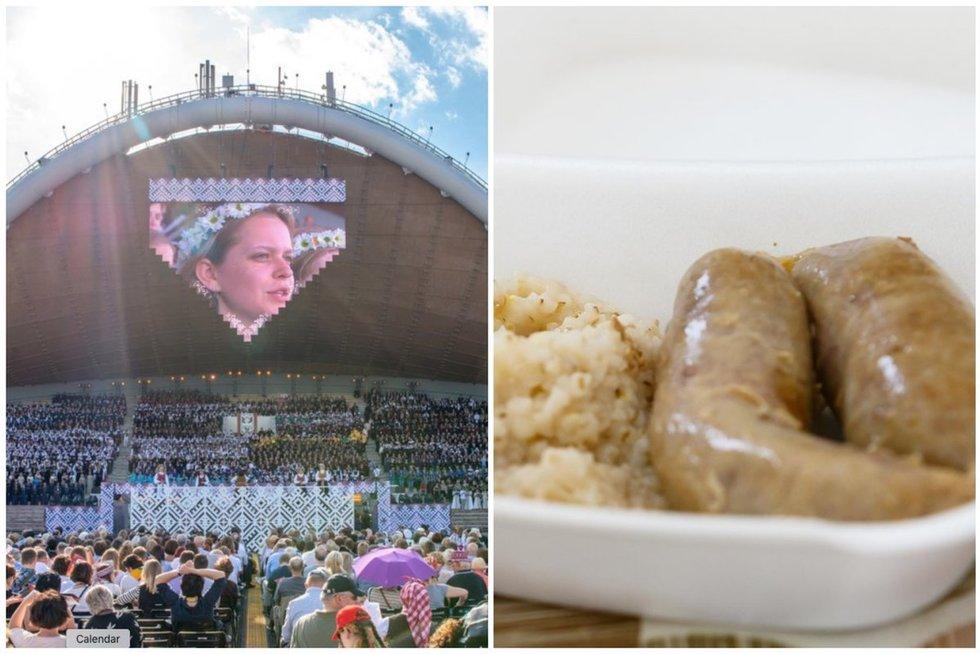 """Kartus """"Dainų šventės"""" poskonis: maisto bendrovei skyrė 100 tūkst. eurų baudą (tv3.lt fotomontažas)"""