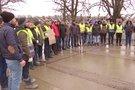 Kaune protestuoja turkai (nuotr. stop kadras)