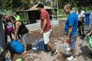 Gamtos stichija be vandens paliko 4 mln. Čilės sostinės gyventojų (nuotr. SCANPIX)