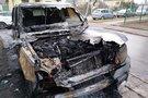 Šiauliuose padegta mašina Land Rover Range, E. Anglickis nuotr.