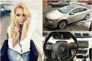 N. Pareigytė parduoda automobilį  (tv3.lt fotomontažas)